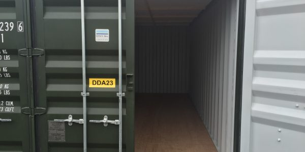 How To Open And Close A Self-storage Container